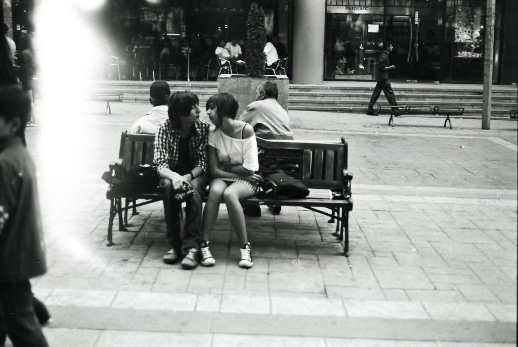 համբույր Երեւան փողոց քաղաք զույգ