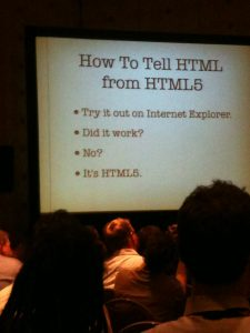 how to tell html from html5?